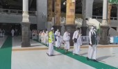 بالفيديو.. بدء توافد ضيوف الرحمن على المسجد الحرام لأداء طواف القدوم