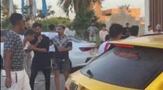 """بالفيديو.. شجار حمو بيكا مع شباب بـ """"الأحزمة"""""""