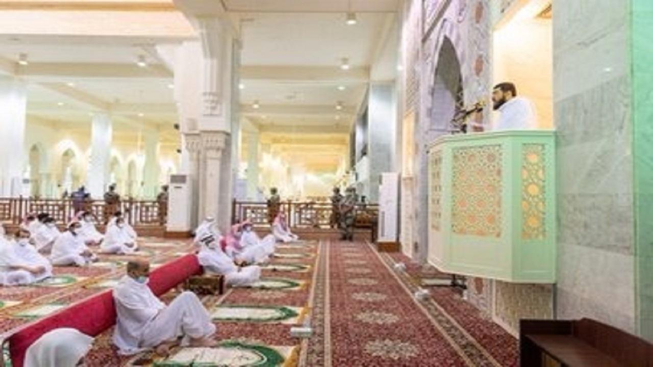 بالفيديو.. الشيخ بندر بليلة يلقي خطبة عرفة بمسجد نمرة