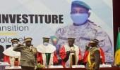 هجوم بالسكين على رئيس مالي المؤقت أثناء صلاة العيد