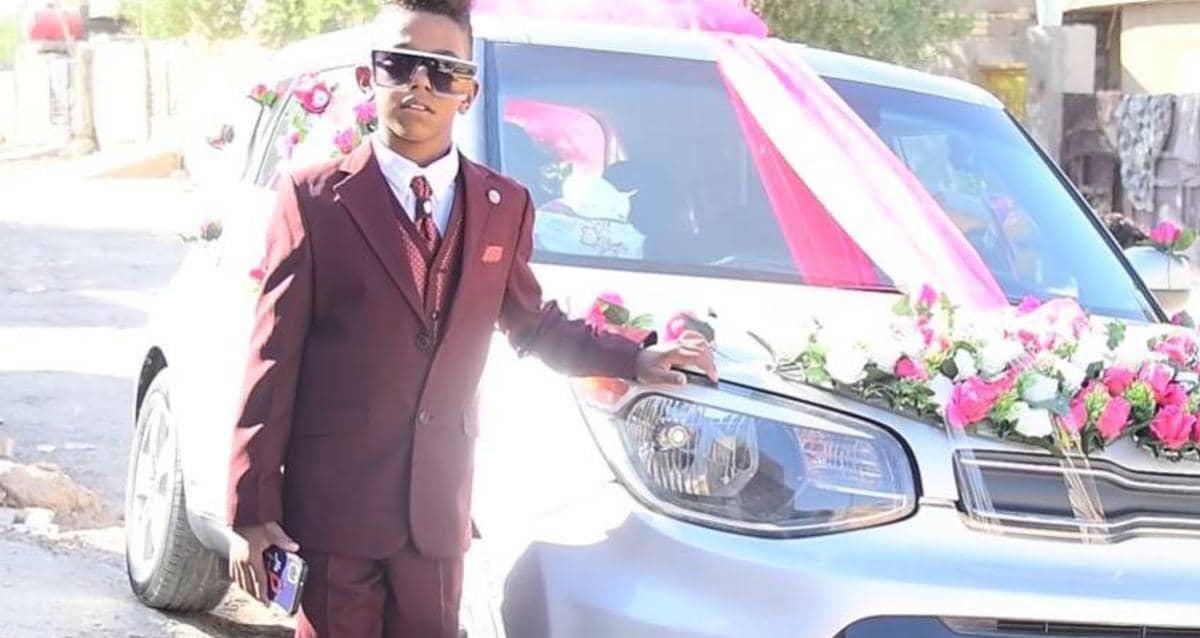 بالفيديو.. حفل زفاف عريس عمره 11 عام بالعراق يثير ضجة