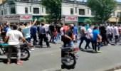 بالفيديو.. هتافات تطالب برحيل خامنئي في شوارع طهران