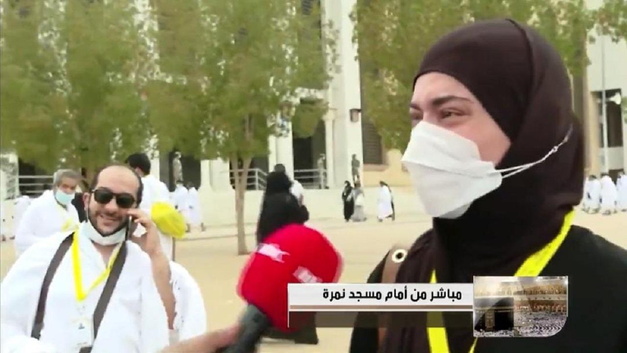 بالفيديو.. دموع حجاج بيت الله الحرام تمتزج بزخات المطر في صعيد عرفة