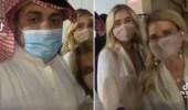 بالفيديو.. مواطنون يلتقطون الصور مع سائحات أثناء زيارتهن بريدة