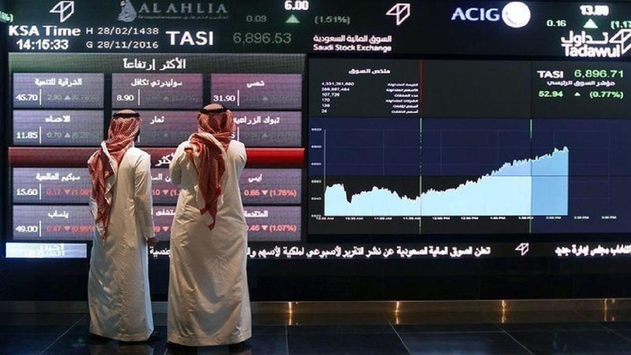 مؤشر سوق الأسهم يغلق مرتفعا