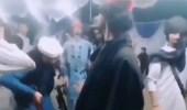 """شاهد.. عناصر طالبان يرقصون بطريقة غريبة والفراج: """"الشفقة على إعلام أمريكا الحر"""""""