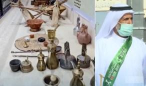 بالفيديو.. مواطن يحول جزءا من منزله إلى متحف للتقنيات التراثية بنجران