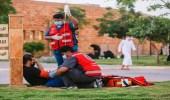 3 آلاف ساعة تطوعية للهلال الأحمر بالطائف