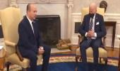 فيديو.. بايدن يغفو خلال لقاء رئيس الوزراء الإسرائيلي