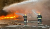 السيطرة على حريق في حي أم الشعال بالرياض