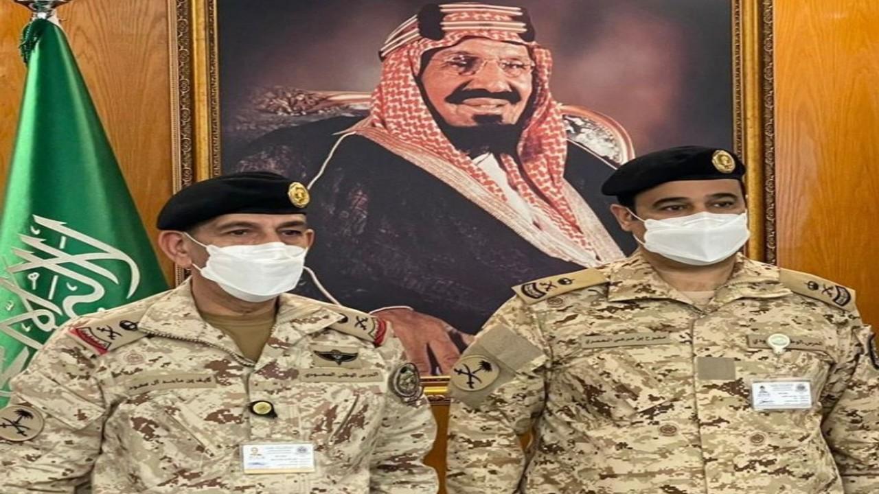 ترقية العميد مفرح العمري إلى رتبة لواء بالحرس الوطني