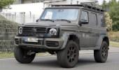 صور توثق اختبار سيارة مرسيدس جي كلاس سكويرد الجديدة