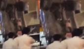 بالفيديو.. مركبة مسرعة تصدم بأخرى متوقفة في الرياض