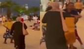 فيديو.. لحظة تعرض أسرة سعودية للسرقة في جورجيا