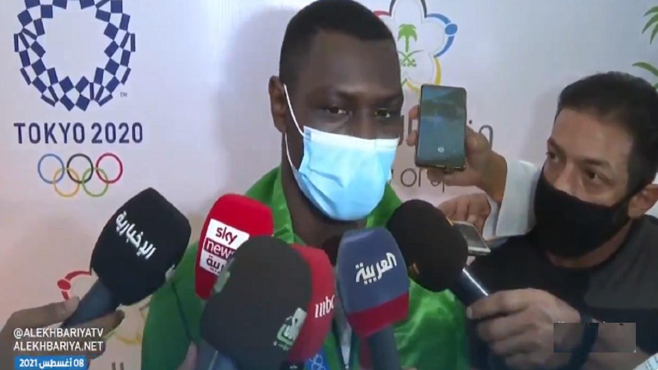 بالفيديو.. البطل الأولمبي طارق حامدي: أهدي إنجاز تحقيق الميدالية للقيادة