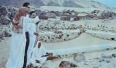 صورة نادرة من مقبرة شهداء بدر التقطت فترة الثمانينات الهجرية