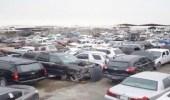 """""""الزكاة"""" تعلن عن مزاد لبيع سيارات تشليح في جمرك جازان"""
