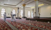 الشؤون الإسلامية:إعادة افتتاح 5 مساجد بعد تعقيمها في 4 مناطق