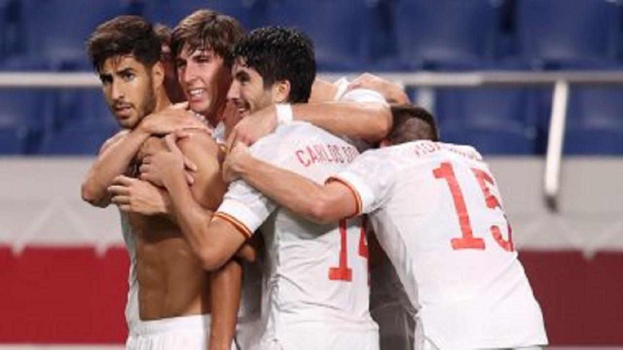 إسبانيا يصعد لنهائي منافسات كرة القدم بأولمبياد طوكيو 2020