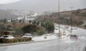 هطول أمطار رعدية على مناطق المملكة