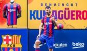 برشلونة يعلن غياب سيرجيو أجويرو عن الملاعب