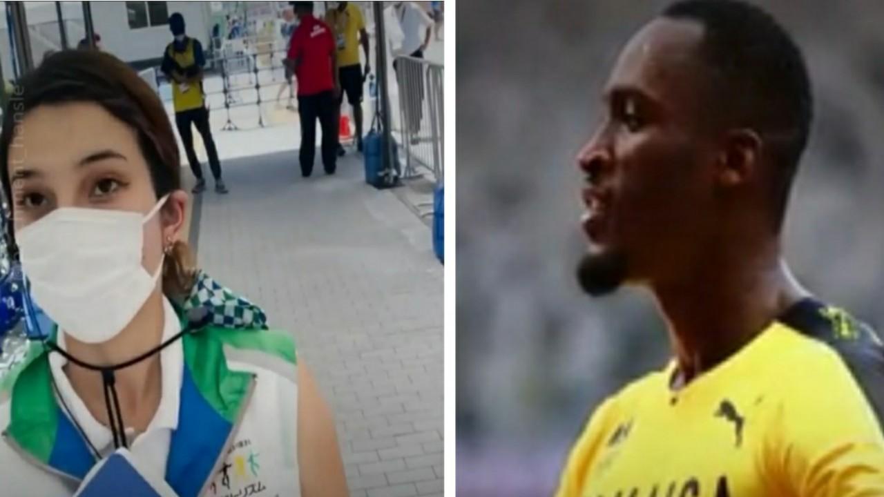 صاحب ذهبية يعيد مبلغا ماليا اقترضه من فتاة في أولمبياد طوكيو ويهديها قميص فريقه