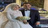 بالصور.. نجم طيور الجنة الوليد مقداد وزوجته خلال حفل زفافهما