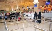 مطار الأمير محمد بن عبدالعزيز يستقبل أولى رحلات المعتمرين القادمين من الخارج