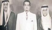 صورة للملك فهد مع شقيقيه الأمير نايف والأمير تركي