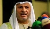 قرقاش: الغنوشي يزج باسم الإمارات لتبرير قصوره
