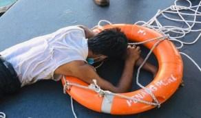 شاب يحاول السباحة من ماليزيا إلى المملكة