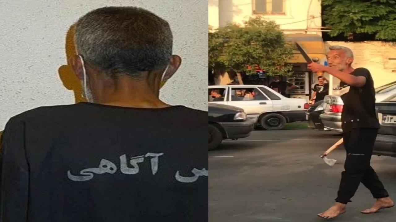 إيراني يقتل ويصيب 10 أشخاص أثناء سيرهم بالشوارع