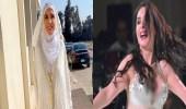 صور.. الراقصة دينا تفاجئ جمهورها بارتداء الحجاب