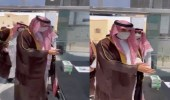 """فيديو.. موظف استقبال يطلب من أمير الجوف إبراز تطبيق """"توكلنا"""""""