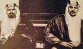 صورة نادرة للملك سعود مع أمير الكويت الشيخ أحمد الصباح عام 1942