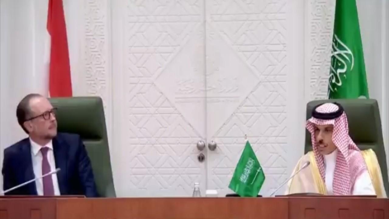بالفيديو.. وزير الخارجية: العلاقات التجارية بين المملكة والنمسا أكثر من 50 عامًا