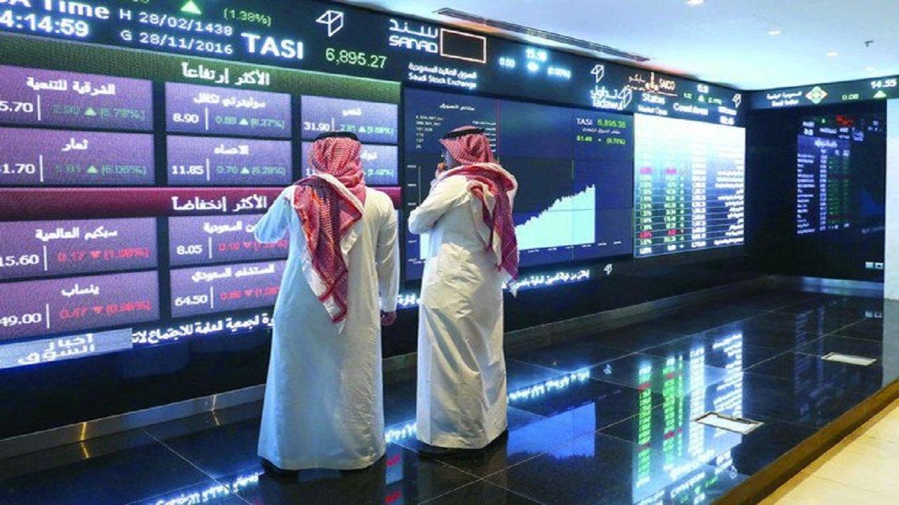 مؤشر سوق الأسهم يغلق على ارتفاع