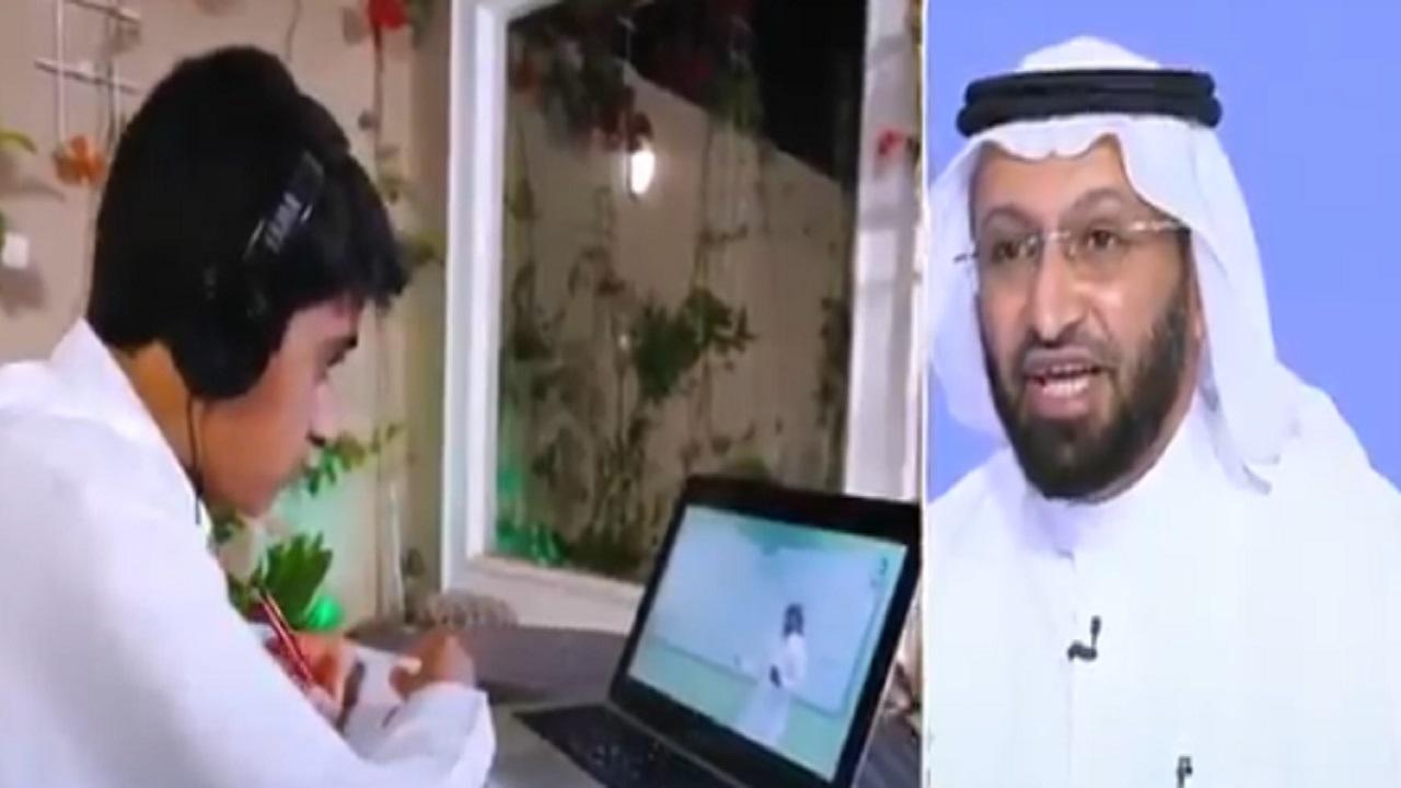 مستشار : أنصح بتأسيس فصل مدرسي في المنزل لخلق بيئة تعليمية للطالب (فيديو)