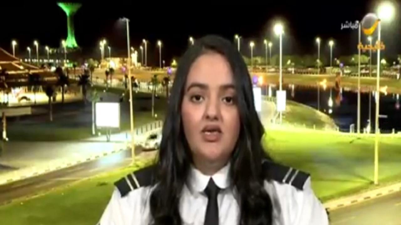 بالفيديو .. أول طالبة متدربة تطير انفرادياً في سماء المملكة تروي تجربتها الاستثنائية