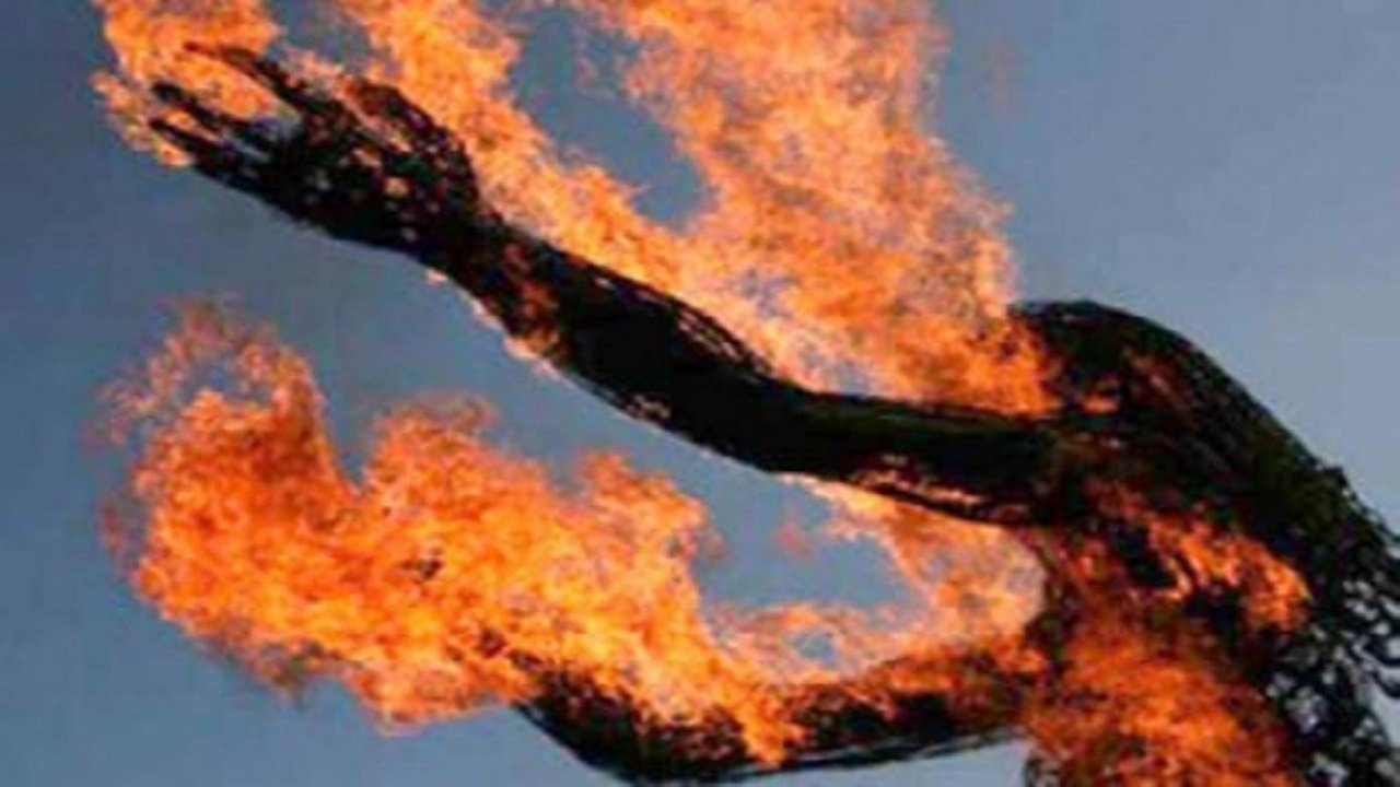 مقتل عشرينية حرقًا على يد زوجها