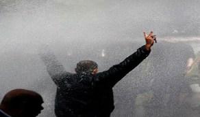 """العراق يلجأ لـ """"خراطيم المياه"""" ضد الإيرانيين"""