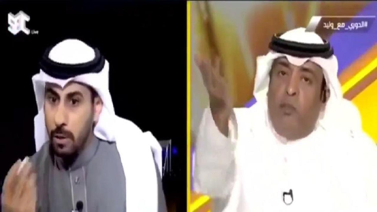 """تعليق """"مثير"""" من جستنيه على مقطع نقاش حاد للفراج والعنزي بشأن النصر"""