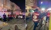 اندلاع حريق في عمارة سكنية بالطائف وإصابة 12 شخصا