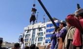 طالبان تعلق جثث 4 خاطفين وتعرضها بأماكن عامة