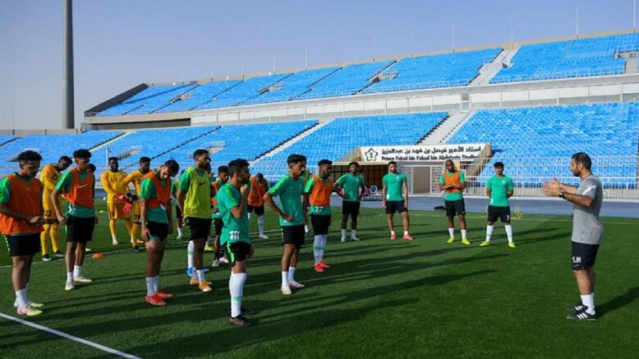 قرعة كأس اتحاد غرب آسيا تحت 23 عامًا تضع الأخضر في المجموعة الثالثة
