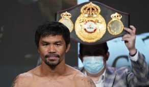 بطل ملاكمة شهير يعتزم الترشح لمنصب رئيس الفلبين