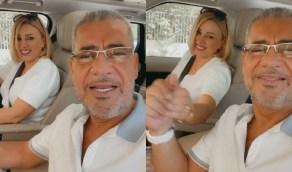 مصطفى الآغا يظهر في فيديو طريف مع زوجته