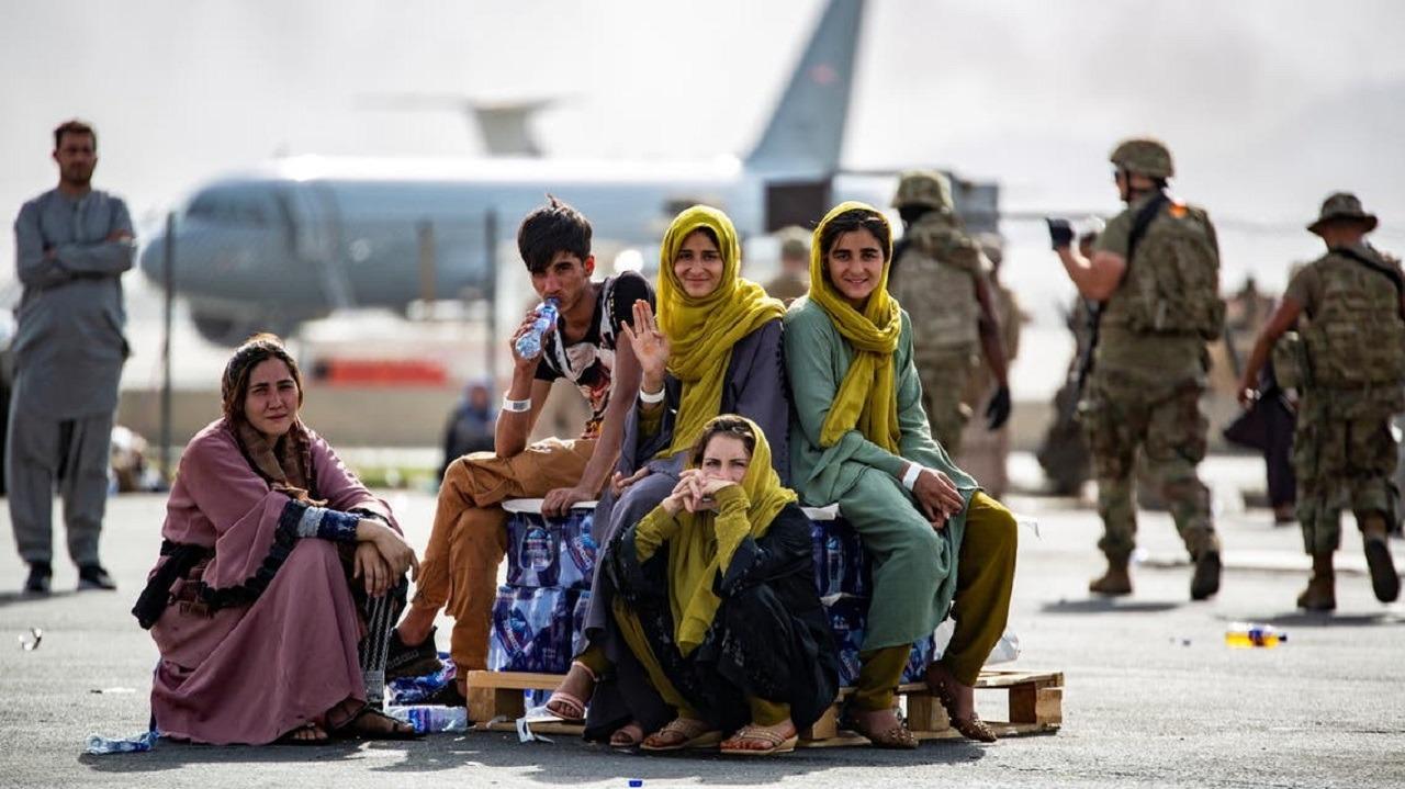 """""""الحصبة"""" تُعلق إجلاء الأفغان إلى أمريكا"""