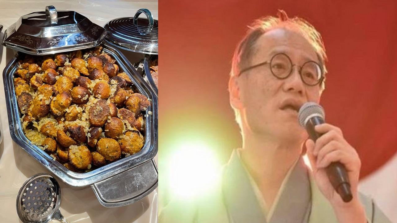 صورة.. السفير الياباني يسأل عن طريقة طهي المخامير