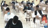 بالفيديو.. الطالب ريان عيسى يحقق الدرجة الكاملة في اختبار القدارت العامة